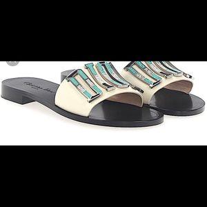 ec29d901f14 Dior Shoes - New Dior Diorevolution Evolution creamy Sandals 39